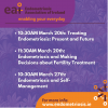 Endometriosis Association of Ireland present 3 Talks - Treatment, Management & Fertility