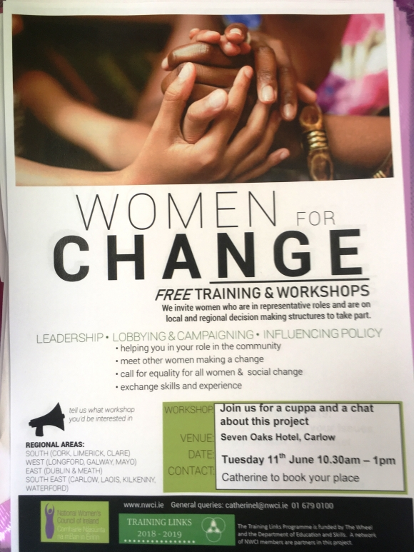 Carlow Women for Change Information Session