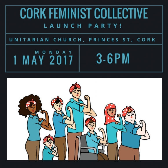 Invite to the launch of Cork Feminist Collective (formerly Cork Feminista)