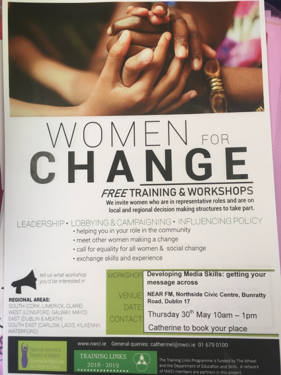 Dublin Women for Change: Getting your message across