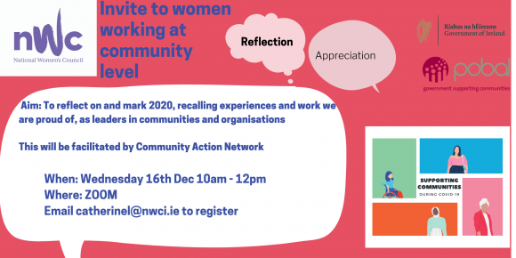 Invite to Women's community organisations