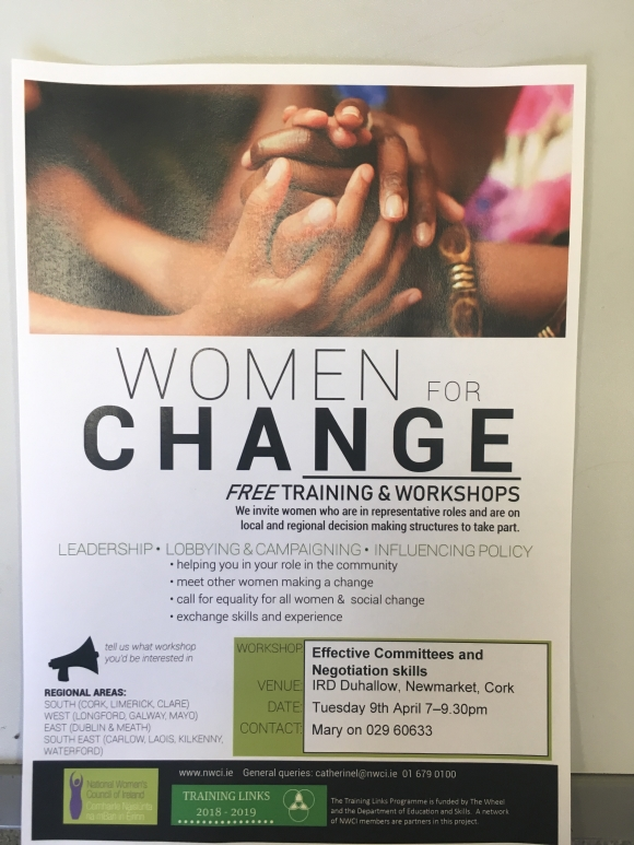 North Cork Women for Change: Effective Committees and Negotiation Skills
