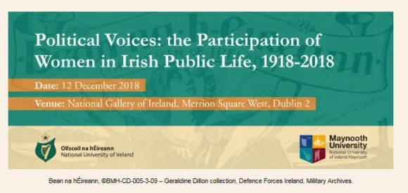 Political Voices: the Participation of Women in Irish Public Life, 1918-2018