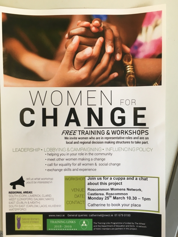 Women for Change Roscommon Information Session