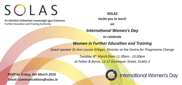 Celebrate Women in Further Education and Training » Events » The