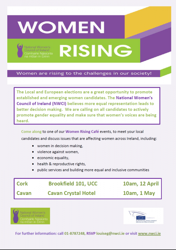 Women Rising: Cafe Events