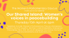 Our Shared Island: Women's voices in peacebuilding