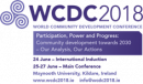 World Community Development Conference: Speakers announced and Bursaries available
