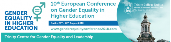 10th European Conference on Gender Equality in Higher Education