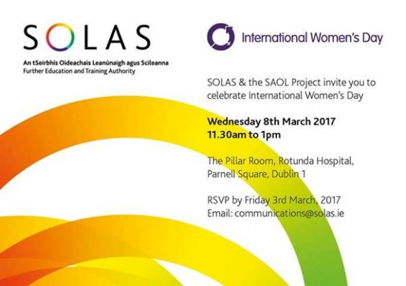 SOLAS & the Saol Project invite you to celebrate International