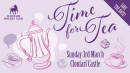 IWD Time For Tea in Clontarf Castle - proceeds for the Women's section of Clontarf Hockey club.