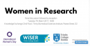 'Women In Research' Panel Discussion & Reception - Trinity