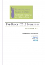 NWCI Pre-Budget Submission 2013 - Final version