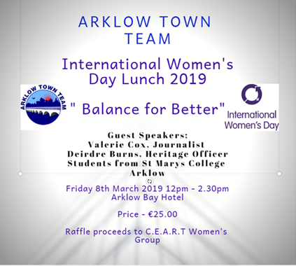 4df96012982b1 Arklow Town Team International Women's Day Lunch » Events » The ...