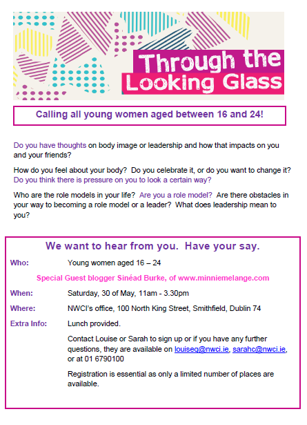 Through the Looking Glass: Workshops with young women on body image