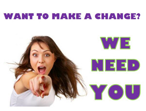 Want to make a change? Become a member today