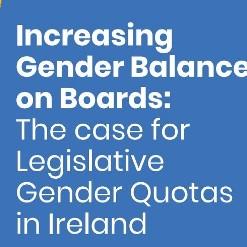 Increasing Gender Balance on Boards