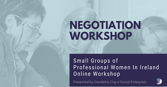 ONLINE Negotiation Workshops for Professional Women - 3 x Nights